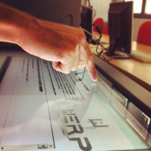 werp - gestionale aziendale su sistema touch screen